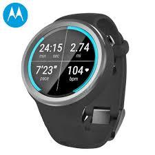 motorola 360 sport. motorola moto 360 sport 2nd gen smartwatch - black o