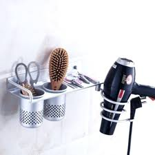 blow dryer holder wall mount high quality wall mount hair dryer drier flat holder stand rack