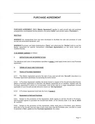 Permalink to Purchase Agreement Template : Sales Agreement Form Free Sales Contract Template Legal Templates : Download detailed purchase agreement template.