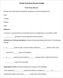Download Now Nursing Resume Template 10 Free Samples Examples