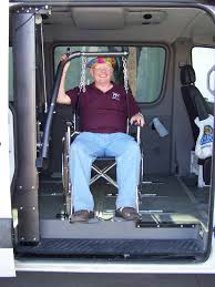 wheelchair lift for van. Wheelchair Van Lift Using BlockDivision Industrial Strength Pulley Blocks For