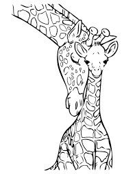Giraffe Coloring Pages Giraffe Coloring Pages