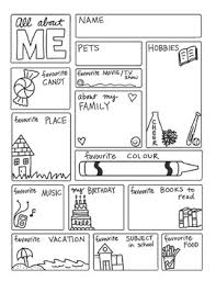All About Me Worksheets Pdf All About Me Freebie By Science Math Doodles