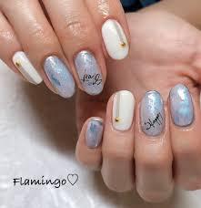 Flamingoさんのネイルデザイン Foilline Tredina