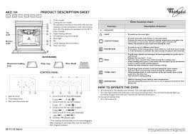 Whirlpool Cooling Off Light On Whirlpool Akz 104 Nb Instruction For Use Manualzz Com