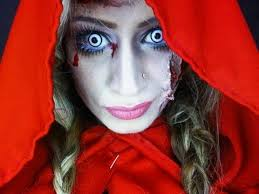 little red riding hood zombie makeup tutorial