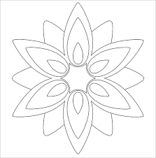DIY Paper Flower Craft Template doc 718957 flower template 25 best ideas about flower template on free templates for contracts of employment