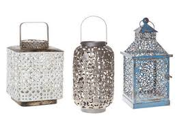 moroccan lantern set of three