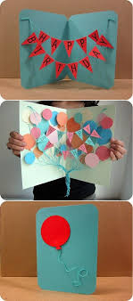 Diy Kids Birthday Card How To Make Handmade Birthday Card Designs Homemade Handmade