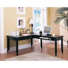 nice long corner desk office long black corner desk wooden office desk black finish