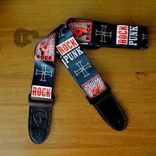 """<b>Ремень для гитары</b> с надписью """"Punk Rock"""" - Всё для гитары"""