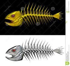 фото скелет рыбы