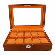 watch storage boxes for men women watcho uk orbit men s leather watch box ow180