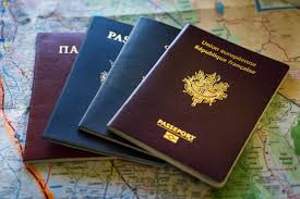 Image result for stack of foreign passports