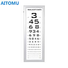 Vision Levels Chart 5m Distance Eye Test Visual Chart Light Box Buy Distance Visual Chart Light Box Distance Visual Chart Distance Visual Acuity Chart Product On