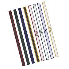 Color Magnetic Bar Strip Tape Magnet Strip Bulletin Bar School Office Stationery Bar For Whiteboard Fridge 12 Inch Green 6pack