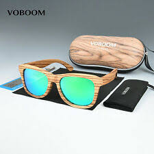 kithdia natural zebra polarized wood sunglasses blue lens handmade and support dropshipping provide pictures kd015