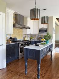 white kitchen dark wood floor. Kitchen - Mid-sized Traditional U-shaped Dark Wood Floor And Brown White