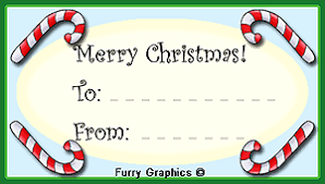 Christmas Labels For Your Xmas Gifts And Presents