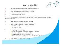 Company Profile Sample Download Amazing Company Business Profile Sample Puebladigitalnet