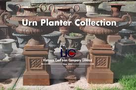 cast iron decorative urns planters