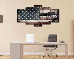 rustic american flag with soldiers 1 army rangers military art patriotic wall art navy seals army wall decor us marines canvas on patriotic canvas wall art with patriotic wall art etsy
