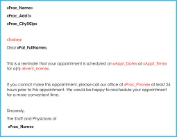 How To Write Appointment Letter Doctor Appointment Letter 10 Sample Letters Formats
