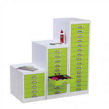 Green File Cabinet And Lime Green Lockable Multi Drawer Cabinet