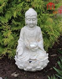 garden buddha. Garden Buddha Ornament Sitting, Solar Powered Light Up Large Outdoor Indoor I
