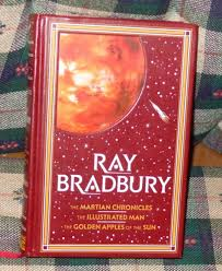 ray bradbury martian chronicles barnes noble leather hb 3 in 1 ilrated man
