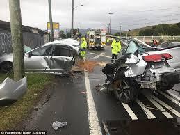 Police are shocked man, 31, survived a horrific car crash that split ...