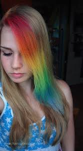 Lenka S Rainbow Hair 2