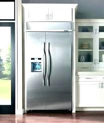 42 inch built in refrigerator.  Refrigerator Kitchenaid Panel Ready Refrigerator 42 Inch Built In Intended