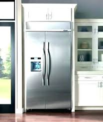 kitchenaid panel ready refrigerator 42 inch built in