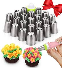 Amazoncom Russian Piping Tips Cake Decorating Supplies 39