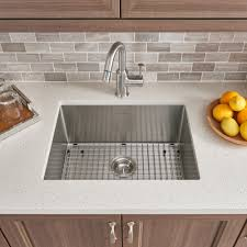Pekoe Extra Deep Undermount 23x18 Single Bowl Kitchen Sink