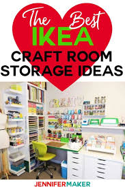 save the best ikea craft room storage ideas and shelves kallax expedit linnmon