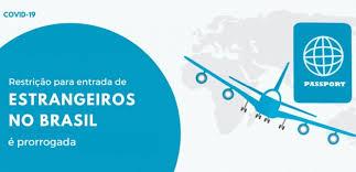RESTRIÇÕES À ENTRADA DE ESTRANGEIROS NO... - Consulado-Geral do Brasil em  Londres   Facebook