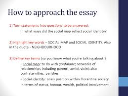 unit area of study social life in renaissance florence ppt how to approach the essay