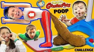 fantastic gymnastics. fantastic gymnastics challenge! losers eat baby shawn poop diaper? funnel vision flips \u0026 fails fun fantastic gymnastics