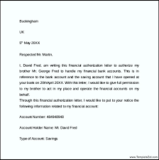 Sample Authorization Letter Close Bank Account Sample