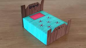 Paper Furniture Bed