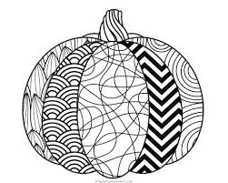 Great for preschool and kindergarten! Free Printable Fall Coloring Pages Simple Mom Project