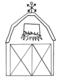 Barn Coloring Pages Printable Houses Coloring Pages Farm House