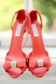 coral wedding shoes. Coral shoes Coral Wedding Inspiration Pinterest Coral shoes