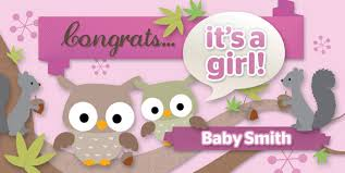 pink welcome baby showers banner envy