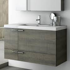 39 Bathroom Vanity Modern 39 Inch Bathroom Vanity Set With Medicine Cabinet Grey