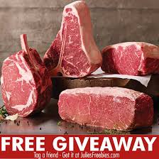 here is an offer where you can sign up for the quicken loans and omaha steaks quikly offer giveaway once the giveaway goes live you will receive a text