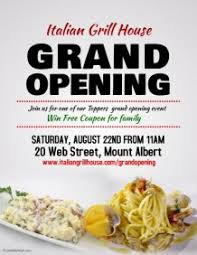 Free Grand Opening Flyer Template 740 Customizable Design Templates For Grand Opening Postermywall
