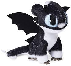 How To Train Your Dragon The Hidden World Nightlight 6 5 Inch Plush Blue Eyes